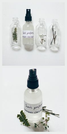 DIY Hair Perfume Recipe from Free People.Make DIY Hair Perfume with just a few ingredients like essential oils, water, and aloe vera gel or jojoba oil. The best part of this post is the discussion of...