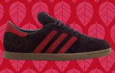 adidas Originals Tobacco: Burgundy & Cardinal Red