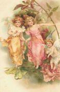 LUNAGIRL Victorian Angels Fairies vintage images clipart ephemera CD
