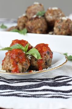 Real Italian Meatballs - A family recipe from NYC! Moist, tender and flavorful - keep some in the freezer for an easy weeknight meal or an impromptu party appetizer!