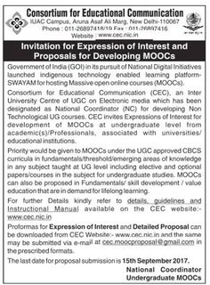 With reference to the below advertisement, if any academic(s)/Professionals, associated with universities/educational institutions interested in