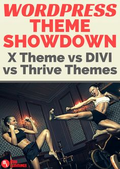 Choosing a theme is tough, but if you have the right one, anything is possible. These are the best of breed available today, and the flagship themes on the market. #wordpress #webdesign #divi #xtheme #thrivethemes