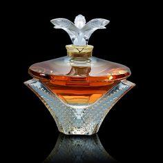 Lalique perfume bottle : )