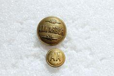 buttons Railroad uniform