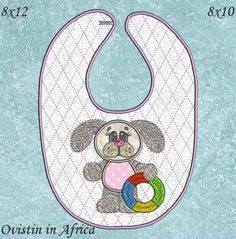 Bunny Bibs Large and Small Bibs, Bunny, Kids Rugs, Embroidery, Decor, Dribble Bibs, Burp Cloths, Kid Friendly Rugs, Hare