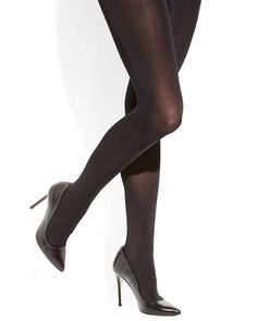 Hue Control Top Shine Tights