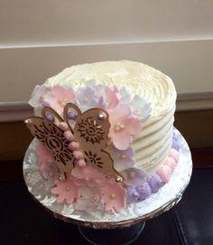 Flower themed Anniversary Cake