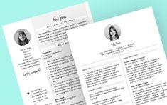 New CV templates