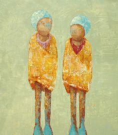 Rebecca Kinkead Art Prints | Rebecca Kinkead_Swimmers' Chill