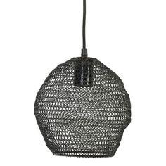 Hanglamp NOLA gaas glans zwart Ø18x20 - 3076958 Light & Living – www.wantsandneeds.nl