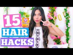 15 hair hacks by TiffanyMa :)