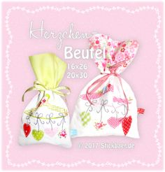 Herzchen-Beutel 16x2