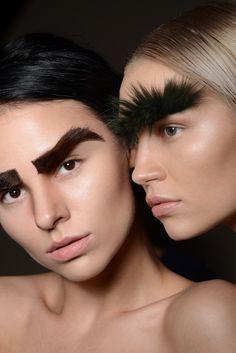 """Fur Brow"" #fur #brow #portrait #eyebrow #interesting #unusual #strange #furbrow #browbar #vogue #macro #artbrow #beauty #voguebeauty #mink"