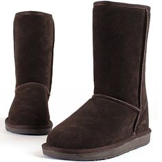 New Mooda Snow Winter Warm Womens Stylish Fashion Leather Boots Shoes Brown *** Click image for more details.