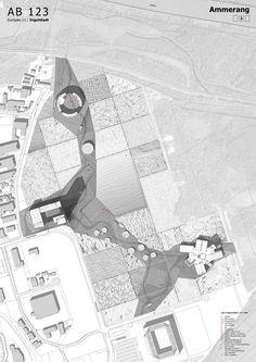 EUROPAN Deutschland Block Plan, How To Plan, Pua, Perspective, Sketch, Photoshop, Landscape, Urban, Architecture