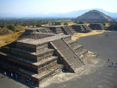 "Teotihuacan, meaning ""City of the Gods"" in Nahuatl"