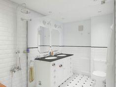 #reforma #arquitectura #diseño #interiorismo #3D #infografias #previsualización3D  #Gumuzio&PRADA #vives #maisondumonde #saloni #lasser #roca