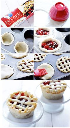 Berry pie.