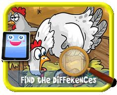 Fancy Chicken Eggs - Find the Differences Game for Kids Find The Differences Games, Fancy Chickens, Hidden Pictures, Chicken Eggs, Different, Games For Kids, Kids Playing, Snoopy, Activities