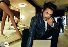"Robert Downey Jr. Is His Typical Attractive Self On The Cover Of ""GQ"""