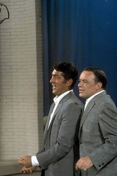 Dean & Frank together again... in rehearsal for The Dean Martin Show - undated - web -MR