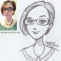 Enigmaurora Sketch by Banzchan