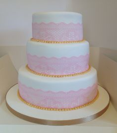 Wedding cake www.facebook.com/kirstiescakesuk
