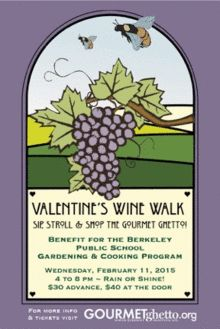 North Berkeley Gourmet Ghetto Valentine's Wine Walk, Hiroko Tsumori blog, things to do in the east bay, east bay events,