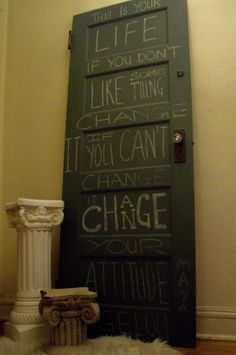 If I had my druthers, the entire house would be chalkboard paint.