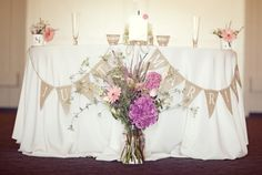 Bride&Groom Table....soooo CUTE&ADORABLE....I ❤ this too!!