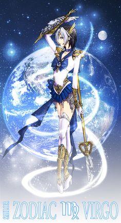 .:Sailor Zodiac Virgo:. by =NakuraCalavera on deviantART p @joserobertov / José Roberto Vieira