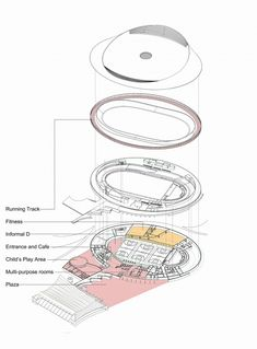 Plan for a community velodrome in Canada
