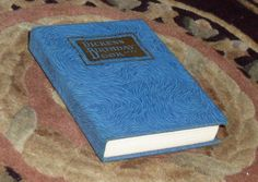 Vintage 1929 Charles Dickens Birthday Book Daily Quotes Gilt Accent