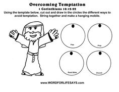 Bible Jesus Temptation Craft for Kids God's Word is a Treasure 817 x 620 · 87 kB · jpeg Bible Craft Jesus Temptation Temptaion of Jesus Put the Facts in order cards 1600 x 1236 · 244 kB. Jesus Crafts, Bible Story Crafts, Bible School Crafts, Bible Stories For Kids, Preschool Bible, Bible Lessons For Kids, Jesus Stories, Kids Sunday School Lessons, Sunday School Activities