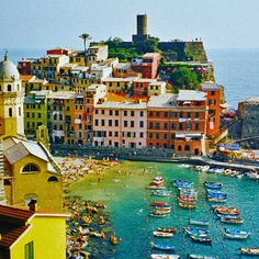"If you find yourself on the Mediterranean Sea or in Italy then be sure you make your way to Cinque Terre. Cinque Terre, or ""The Five Lands"" (in Italian), is composed of five villages: Monterosso al Mare, Vernazza, Corniglia, Manarola, and Riomaggiore, which make up the Cinque Terre National Park,..."