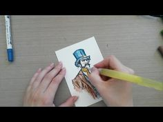 Made by Sannie: Stitch up card with video tutorial