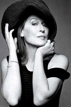 When it comes to acting...she knows how to do it, and do it well.  I love you Meryl