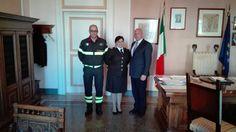 Campobasso visita del nuovo Comandante Provinciale dei Vigili del Fuoco