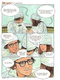Sleeper (1973) A Woody Allen film - 博客誌