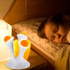 Ehonestbuy Portable Color Changing Ball Table Lamp Creative Mushroom Shape Colorful Gradient Magic LED Night Light for Baby Children Kids - Colors Adjustable -- Awesome products selected by Anna Churchill