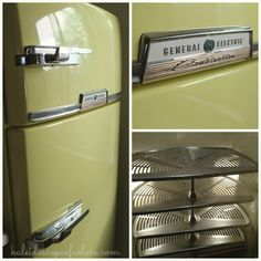 Thursday's Treasure: Retro Kitchen, 1955 General Electric Refrigerator