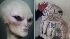 Estatua MAIA recém-descoberta mostra claramente figura alienígena que era adorada como um DEUS no passado - Sempre Questione