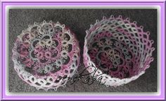 Hand made tatting Irene: chantilly lace and frywolitkowa