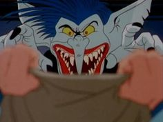 The Boogie man from The Real Ghostbusters...he used to scare me as a kid