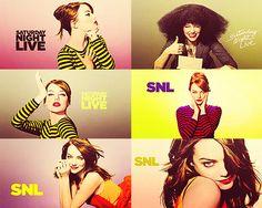 Emma Stone on SNL