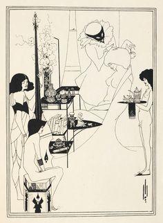 Aubrey Beardsley illustrations for Salome by Oscar Wilde - The British Library
