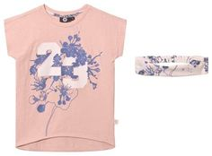 Treat your little one to this pink Floral Print Malle T-Shirt and Hairband Set from Hummel. Crafted from a soft cotton blend, this Malle Shirts, Floral Prints, Fashion Dresses, Classy, Pretty, Pink, Cotton, T Shirt, Tops