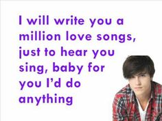 One Step Closer by Shane Harper. Just found this yesterday and love this song!