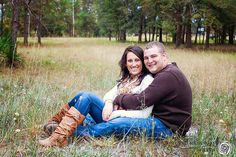 Captured Memories by Esta Eberhardt Photography | COUPLES + E-SESSIONS country couple woods
