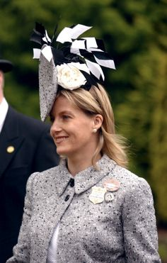 Sophie, Countess Of Wessex, at Royal Ascot Day One,  June 14,2005